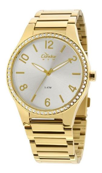 Relógio Condor Feminino Dourado Copc21ak4k