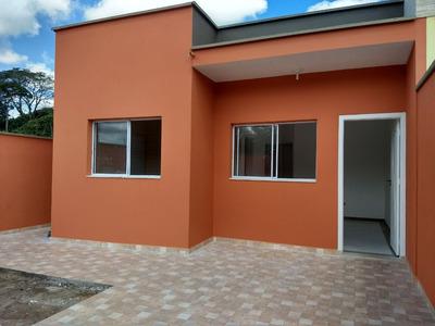 Casa Nova Na Praia, Barata, Só R$45.000 De Entrada!