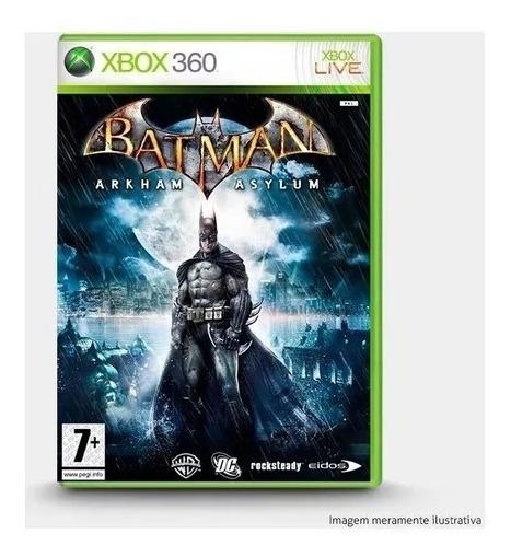 Batman Arkham Asylum - Original Para Xbox 360 + Brinde