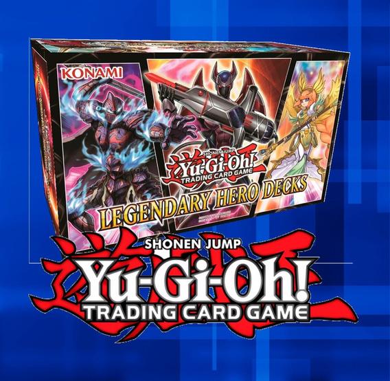 Yu-gi-oh Preventa Legendary Hero Decks