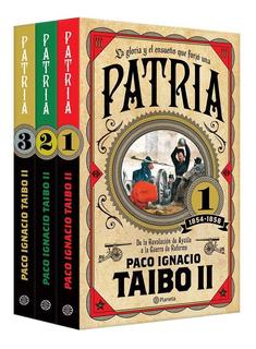 Original - Box Set Patria 1, 2 & 3 Paquete - Taibo Ii