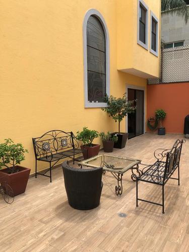 Imagen 1 de 30 de Preciosa Casa En Condominio En Coyoacan