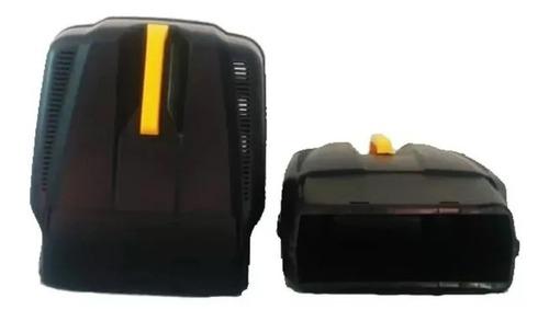 Imagen 1 de 6 de Canasto Recolector Plástico Con Tapa Móvil Plumita 1111