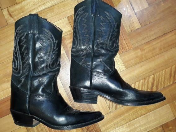 Botas Texanas Jr Boots & Shoez - Art. 6040 Talle 41 C/nuevas