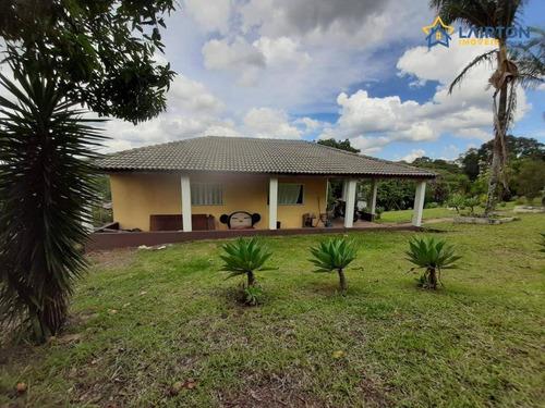 Chácara Com 2 Dormitórios À Venda, 1200 M² Por R$ 450.000,00 - Jardim Estância Brasil - Atibaia/sp - Ch1445