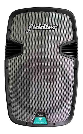 Parlante Karaoke Bluetooth Fiddler 50w Micrófono Inalámbrico