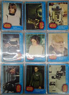 Star Wars Tarjetas Serie 1 De 1977 Completa +27 Cards Ad Xmk
