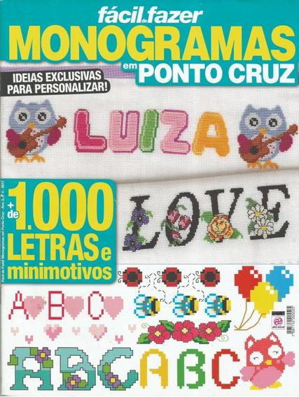 Revistas Ponto Cruz-diversas