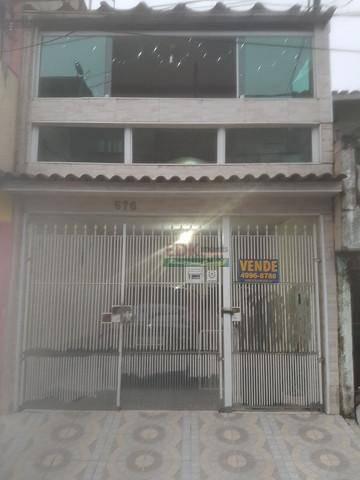 Imagem 1 de 6 de Sobrado Com 3 Dormitórios À Venda, 243 M² Por R$ 380.000 - Jardim Cantareira - São Bernardo Do Campo/sp - So1880