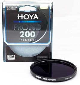 Hoya 82mm Prond 200 Filtro Nd Reduz 7,67 Stops De Luz