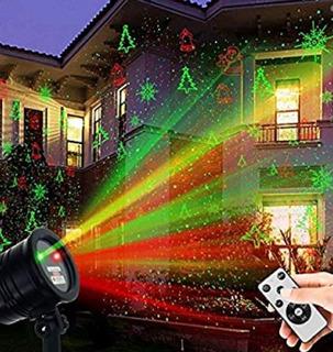 Luces Laser De Navidad Con 5 Patrones