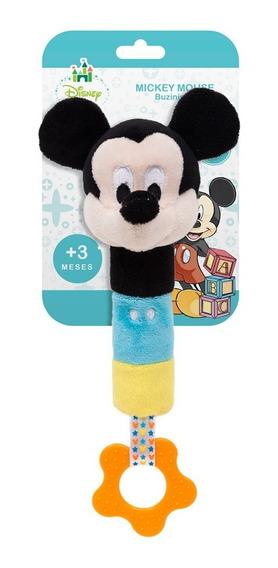 Pelúcia De Atividades - Disney - Mickey Mouse Com Buzininha