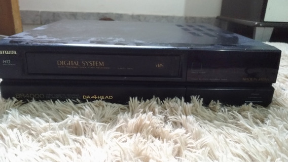 Video Cassette Vhs Aiwa Hq Digital System Br4000 Da 4head