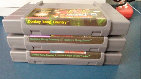 Trilogia Donkey Kong - Super Nintendo