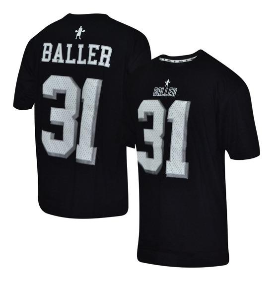 Remera Baller Brand Sunday Negro 2019
