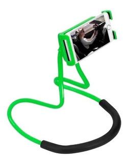 Soporte Celular Cuello Cintura Sujetador Flexible Cama Mesa