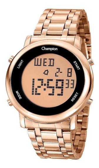 Relógio Champion Feminino Digital Ch40213z Rose + Brinde