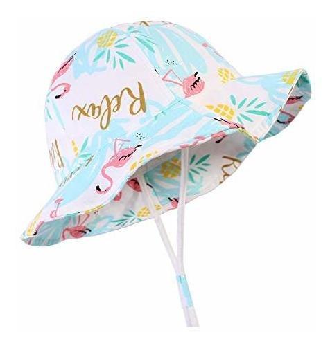 Sombrero De Sol Para Bebe Con Ala Ancha Y Proteccion Solar G