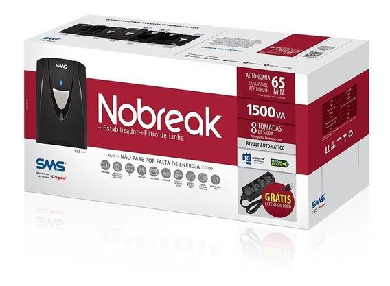 Nobreak Sms Net4+ 1500va Bivolt 115v Engate Bateria Externa