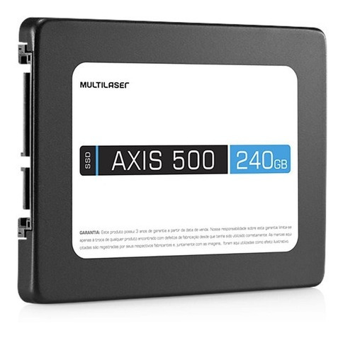Hd Ssd Axis 500 2.5 Polegadas 240 Gb Multilaser