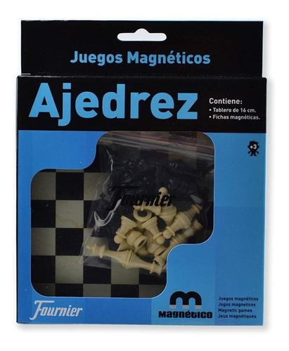Juego De Ajedrez Magnético - Fournier  Portatil De Viaje