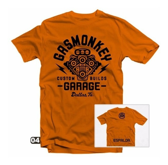 Playeras Gas Monkey - 27 Modelos Disponibles!!!
