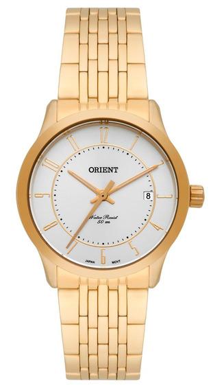 Relógio Orient Feminino Fgss1109 S2kx Dourado Oferta