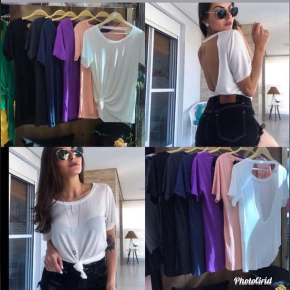 Camiseta Blusinha Feminina T Shirt Mega Promoção De Verão