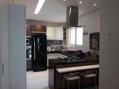 Apartamento Com 3 Dormitórios À Venda, 131 M² Por R$ 660.000 - Jardim Das Indústrias - São José Dos Campos/sp - Ap4053