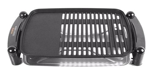 Parrilla eléctrica Black+Decker IG201 220V  negra