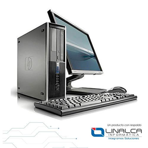 Imagen 1 de 4 de Computador Hp 6200 Ci3 8gb 500gb 17 Win 7 Pro Licenciado