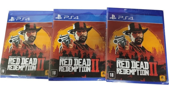 Jogo Red Dead Redemption 2 Ps4 Mídia Fisica + Brinde