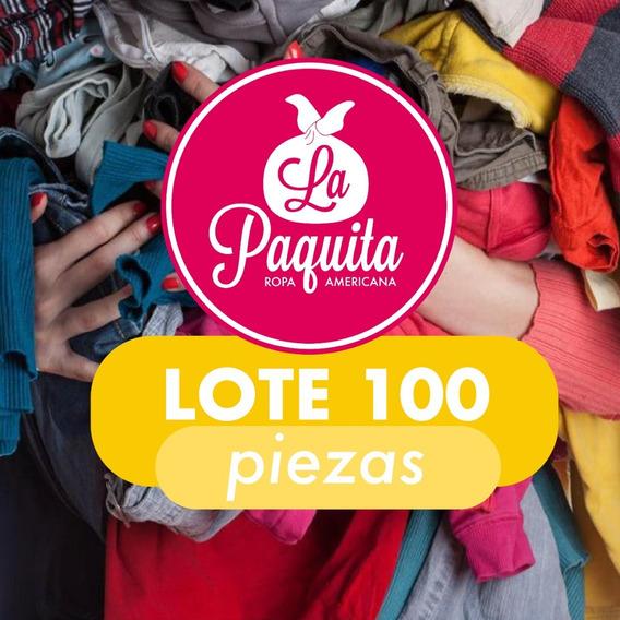 Lote 100 Piezas Ropa Americana Mixta De Paca. Oferta!