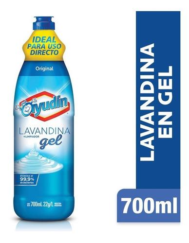 Lavandina En Gel Ayudín Original 700 Ml