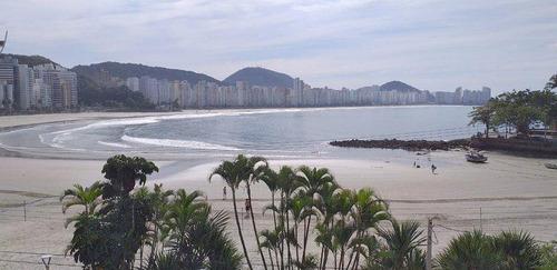 Apartamento Com 3 Dormitórios À Venda, 175 M² Por R$ 1.800.000,00 - Astúrias - Guarujá/sp - Ap10902