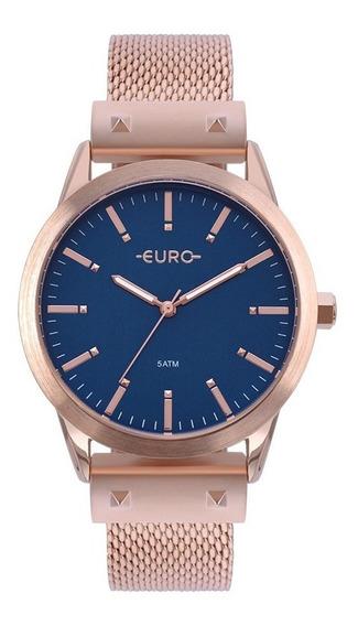 Relógio Euro Feminino Rose Gold Eu2035yom/4a Analógico