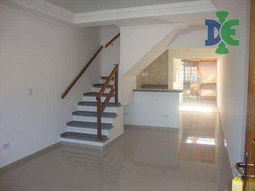 Sobrado Com 2 Dormitórios À Venda, 76 M² Por R$ 230.000,00 - Jardim Jacinto - Jacareí/sp - So0059