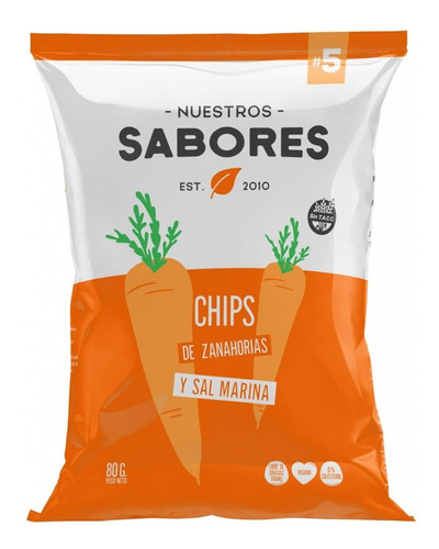 Chips Zanahorias C/sal Marina X 90g