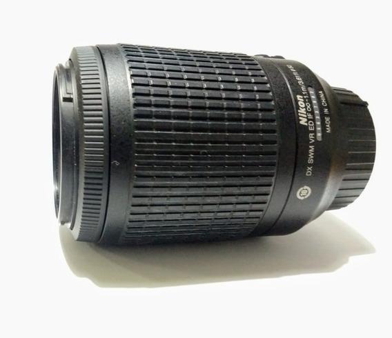 Lente Nikon Dx Af-s Nikkor 55-200 Mm 1:4-5.6 G