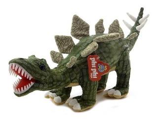 Peluche Dinosaurio Parado Con Dientes Y Sonido 62cm