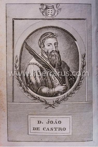 Livro Antigo Raro - Vida De D. João De Castro - 1818