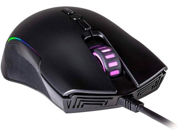 Mouse Gamer Cooler Master Cm310 Rgb 8 Botões 10000dpi