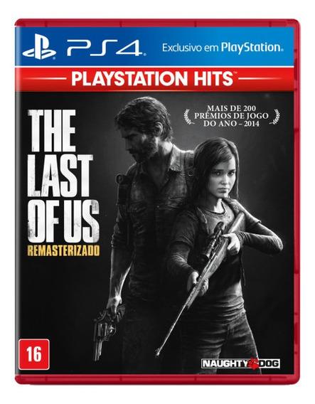 The Last Of Us Remastered Dublado Português Mídia Física Ps4