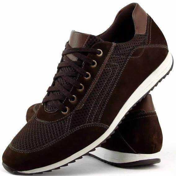 Tênis Masculino Sapato Jogging Confortável Leve