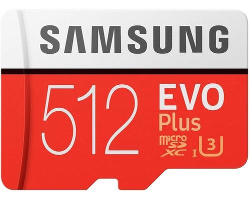 Imagem 1 de 3 de Cartao Samsung Micro Sdxc 100mb/s 512gb 4k Drone Gopro Hero7