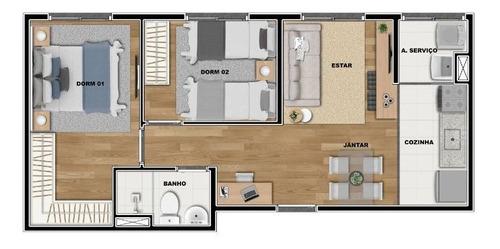 Apartamento À Venda Na Avenida Professor Edgar Santos, Vila Nhocune, São Paulo - Sp - Liv-12098