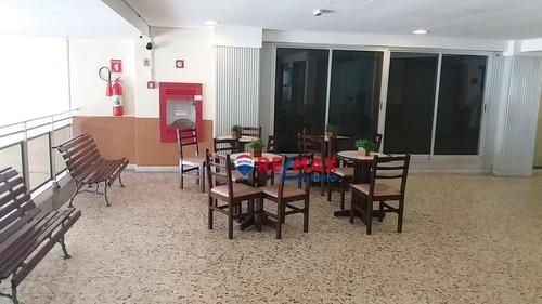 Conjunto Para Alugar, 38 M² Por R$ 2.074,00/ano - Praia Das Pitangueiras - Guarujá/sp - Cj0001