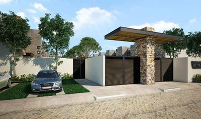 Residencias En Privada Dzitya Norte Con Amenidades A Precio De Preventa $1.595.000