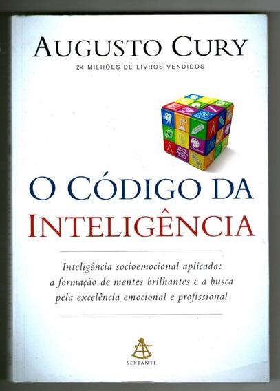 Livro: O Código Da Inteligência - Augusto Cury - Seminovo