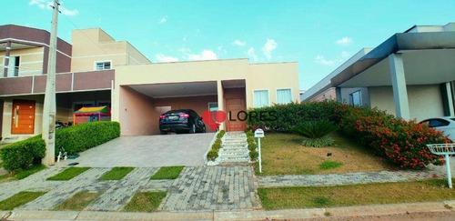 Casa Terrea Condominio Terras De Atibaia 1 - Projeto Aprovado Sobrado - Ca0515